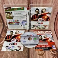 FIFA 09 SONY PS3 PLAYSTATION 3 VIDEO GAME VGC COMPLETE football soccer