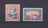 BRITISH GUIANA 1898, Sc# 155-156, CV $67, part set, nature, NG
