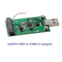 USB 3.0 mSATA Mini SATA SSD adapter card as USB disk driver new