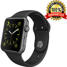 Apple Watch 42mm Space Grey Aluminum Case with Silicon Sports Band