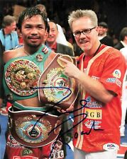 Freddie Roach signed 8x10 photo PSA/DNA Autographed Manny Pacquiao