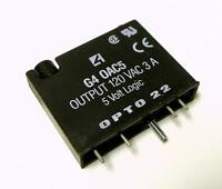 OPTO 22 G4 0AC5 AC OUTPUT MODULE 120 VAC 3 AMPS 5 VOLT LOGIC