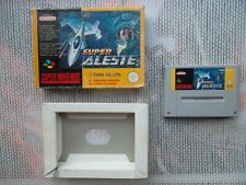 Jeu Super Nintendo / Snes Game Super aleste + Boite PAL original Rare* Bien lire