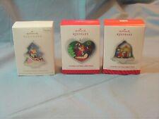 New Listing3 Hallmark Keepsake Cookie Cutter Christmas Ornaments- 1st 3 in series 2012-2014