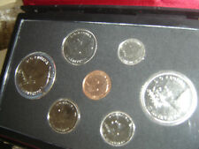 1976 Canada Double Dollar Set (7 Coins Cent to Silver Dollar Mint Set)