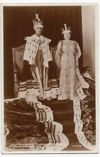 HM King George VI In Robes, Coronation Souvenir PPC, Unposted, By Valentines