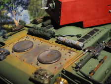 - armatura MOTORE COVER ARMOR Luke RC Carro armato Tank kv1 kv-1 kw1 accessorio trasformazione 1/16