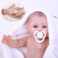 Full Body Waterproof Silicone Vinyl Reborn Baby Girl Dolls Correct Sex Education