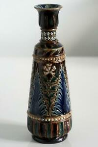 Fine Doulton Lambeth Early Vase - John Broad - c.1879