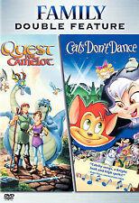 Quest for Camelot / Cats Dont Dance DVD  -2006, 2-Disc Family Double Feature Set