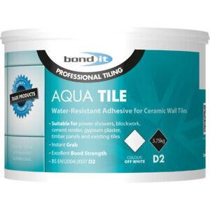 Bond It Aqua Tile D2 Waterproof Ready Mixed Wall Tile Adhesive 15kg
