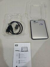 WESTERN DIGITAL WDBLUZ0010BSL Portable HDD WD My Passport for Mac 1TB *A+ GRADE*