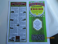 1931 John Deere 1 1/2 to 6 HP Kero Engine Information booklet