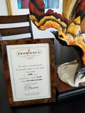 Giuseppe Armani 454/S Bird of Paradise Figurine! Limited #1015 of 5000!