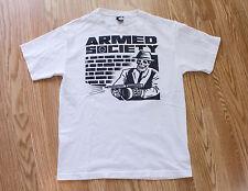 Mens Metal Mulisha Armed Society Short Sleeve T Shirt Size Medium