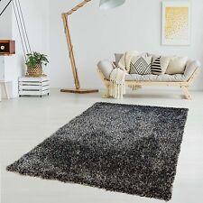 Polyester-Teppich Handgemacht Hochflor Langflor Shaggy Super Soft Einfarbig Uni