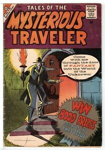 Tales of the Mysterious Traveler #12 GD+ (2.5) Charlton Comic 1959 LOW GRADE