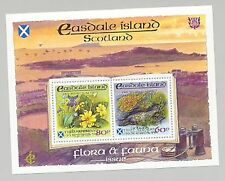 Easdale (Br Local) 1998 Scouts Double Gold o/p Flowers, Mushrooms 1v M/S of 2