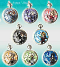 Dissidia Final Fantasy Opera Omnia 8x Pocket Watch v2 Full Set Square Enix Japan