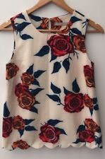 Top XS 8 Cream Floral <NH12806