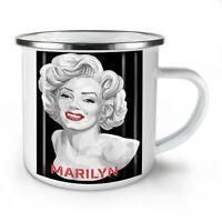 Celebrity Marilyn NEW Enamel Tea Mug 10 oz   Wellcoda