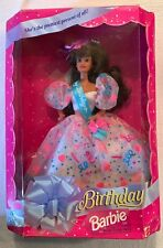Vintage 1994 Birthday Barbie 1994 New In Box
