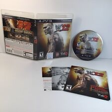 WWE 12 PS3 Sony PlayStation 3 (2011) Wrestling Video Game- COMPLETE SHIP SAMEDAY