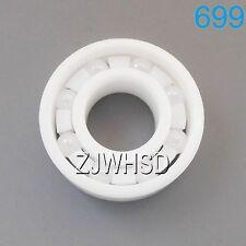 699 Full Ceramic Zirconia Oxide Bearing ZrO2 9 x 20 x 6mm Self-lubricating / Hub