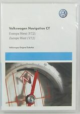 VW RNS 510 810 SEAT SKODA WESTERN EUROPE V7.2 NAVIGATION DVD - GENUINE VW