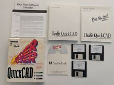 Vintage NEW AutoDesk Drafix QuickCAD Windows 95 Rare Complete Software Set