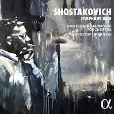 NDR Elbphilharmonie Orchestra Krystof Urbanski - Shostakovich: Symphony (NEW CD)