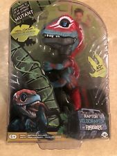 Fingerlings Untamed Raptors Red Dinosaur MUTANT  Velociraptor NEW FREE Shipping