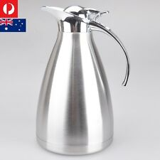 2.0 L Stainless Steel Insulated Coffee/Tea/Water Jug Thermal Pot Flask