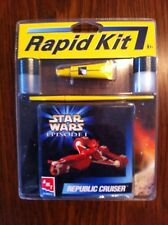 1999 Rapid Kit Star Wars Ep 1 AMT-ERTL Republic Cruiser
