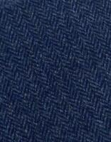 Abraham Moon Fabric 100% Lambswool Midnight Blue Herringbone Ref 1891/80