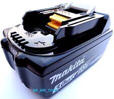 (1) NEW 18 Volt GENUINE BL1830B Makita Battery 3.0 AH Fuel Gauge Replaced BL1830