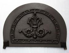 GHISA Vittoriano Arch camino pezzi di ricambio: PIASTRA posteriore Disegnare