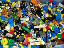 LEGO City Minifigure Lot of 4 random people guys AUTHENTIC REAL LEGO Brand