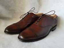 Allen Edmonds Byron Cap Toe Men's Oxford Shoes Brown Leather 8 D