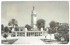 Mexico Parque Hidalgo N Laredo Tamaulipas Real Photo postcard RPPC posted 1954