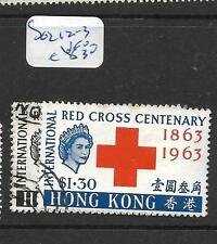 HONG KONG   (PP2705B)  RED CROSS  SG 212-3   VFU