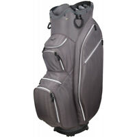 OUUL Python Lightweight Golf Cart Trolley Bag 14 Way Divider Dark Grey Trendy BN