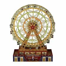 Musical World's Fair Grand Ferris Wheel Animated Rotating Motion Xmas Carols