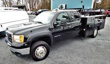 2012 Gmc Sierra 3500Hd Crew Cab 4X4 Utility Service Truck * Diesel * No Reserve