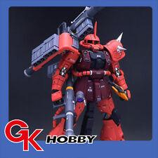 K1702 [Unpainted Resin] UC 1:100 MS-06R-2 RED Zaku HWS MG Conversion kit