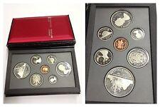 Set Monete Dollars Bene Silver Argento Fine Canada 1987 Royal Canadian Mint