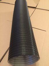 Aluflex Rohr DN 50 schwarz Anwendungslänge 3m