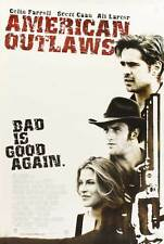 AMERICAN OUTLAWS Movie POSTER 27x40 C Colin Farrell Gabriel Macht Scott Caan