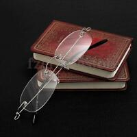 Rimless Antifraying Sin Montura Gafas De Lectura Anteojos Presbicia: +1 ~ +3