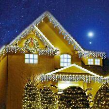 Sentik 720 LED Snowing Icicle String Lights - Blue/White (54136s)